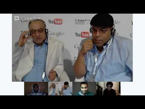 DIFF Google+ Hangout with actor Ahmed Rateb - لقاء الفنان أحمد راتب