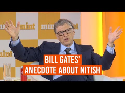 Bill Gates on climate change and Bihar CM Nitish Kumar | Mint Visionaries