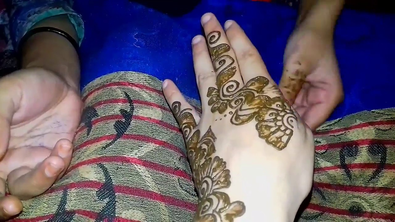 Mehndi Designs For Hands Easy 2018 A Beautiful Henna Design Simple
