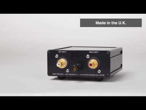 Music First Audio : Moving Coil Step-Up Transformer 632