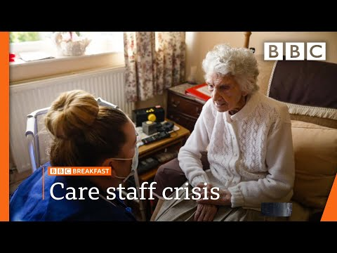 Care staff shortage worse than before pandemic, study shows @BBC News live 🔴 BBC