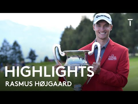 20-year-old Rasmus Højgaard wins 2021 Omega European Masters | Winning Highlights