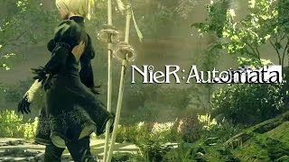 NIER AUTOMATA LAUNCH DAY STREAM | PC Ultra Gameplay