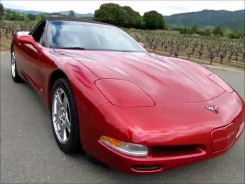 1999 chevrolet corvette convertible for sale youtube. Black Bedroom Furniture Sets. Home Design Ideas