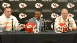 Chiefs introduce first-round draft pick Marcus Peters