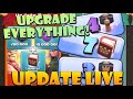 UPDATE LIVE! Buying PACKS and Using BOOKS and HAMMERS! Push Back to MAX!!