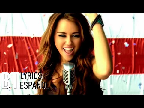 Miley Cyrus  Party In The USA Lyrics + Español