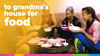 To Grandma's House for Food | Thailand | Orphan's Promise