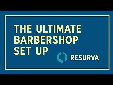 Barbershop Appointment App: The Ultimate Resurva Barbershop Set Up