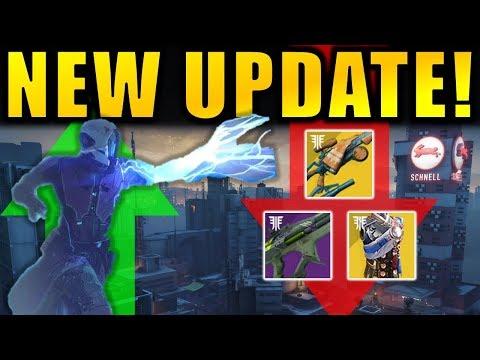 Destiny 2: NEW UPDATE! - Big Gambit Changes! - Chaos Reach Buff! - Gwisin Vest Nerf! | Black Armory thumbnail