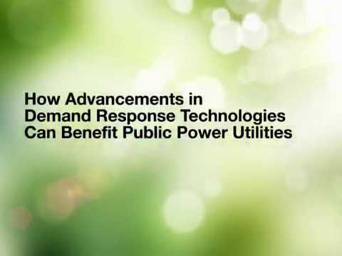 How Advancements in Demand Response Technologies Can Benefit Public Power Utilities