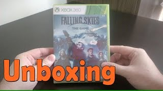 Falling Skies The Game -  Xbox 360 - UNBOXING