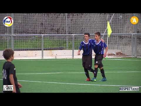 RESUM: Lliga BSA, Infantil 1a Div. Inter Club d'Escaldes A - AGA Ordino
