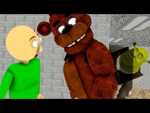 BALDI'S BASICS vs FIVE NIGHTS AT FREDDY'S (FNAF SFM Animation)