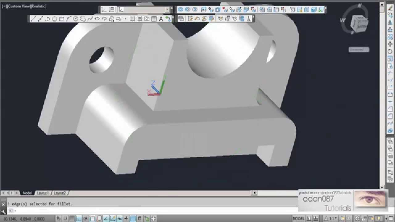 Autocad tutorial: how to change background color youtube.