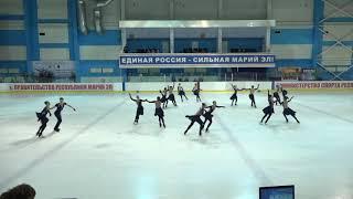 Чемпионат и Первенство России по синхр  MC Произвольная программа 2# Татарстан