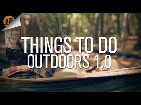 Things To Do Outdoors 1.0