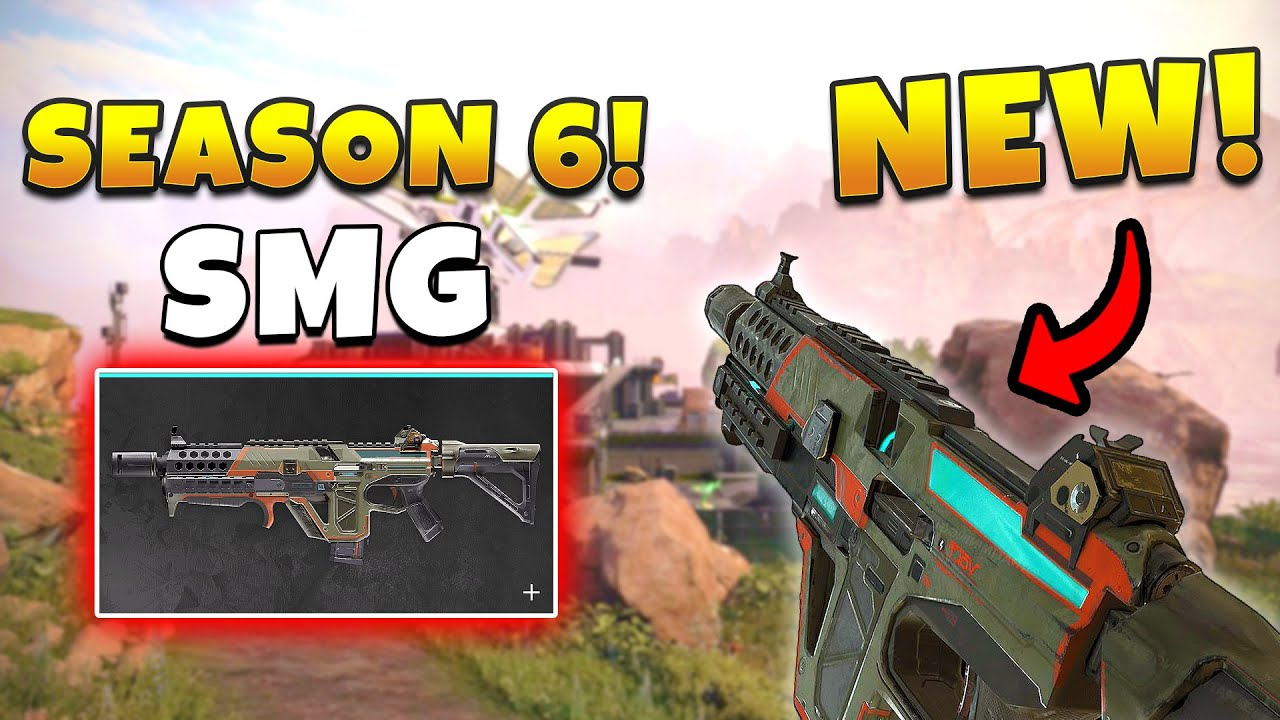 *NEW* SEASON 6 SMG IS THE VOLT! - NEW Apex Legends Funny & Epic Moments #390
