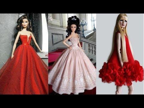 DIY Spring Summer Barbie Dresses | Summer outfits for Barbie