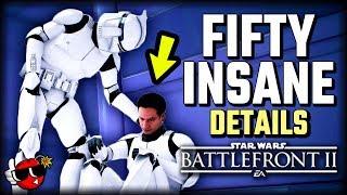 50 INSANE DETAILS on Kamino - Star Wars Battlefront 2 Capital Supremacy *NEW MAP*
