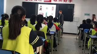 Урок английского в китайской школе