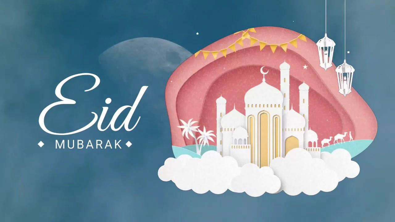 eid mubarak animation 2020  youtube
