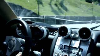 Pagani Zonda C12 S in mountain...terrifying sound