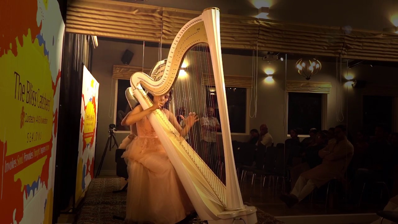 """the harp of india The harp that he directs our attention to is the immediate and the particular but more important than the single """"lonely"""" harp is the miserable state of india bent double under the burden of slavery."""