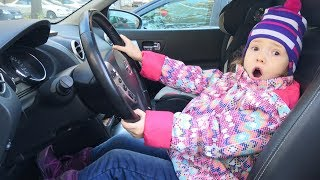 We Are in the Car Song - Nursery Rhymes by Ulya