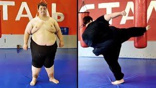 Толстяк сбросил 10 кг за неделю / Трансформация из жиробаса в бойца #2