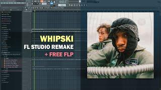 $NOT - Whipski ft. Lil Skies (Instrumental) + Free FLP Remake