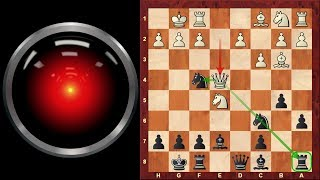 Amazing Game: Stanley Kubrick Chess - 2001 Space Odyssey - the Hal 9000 Supercomputer!