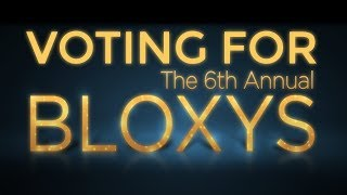 VOTING FOR BLOXY AWARDS 2018! | Roblox