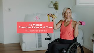 15 Minute Shoulder Release and Tone - Adaptive Exercise
