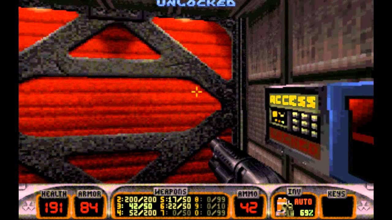 Duke Nukem 3D Episode 1 Playthrough 100% Secrets