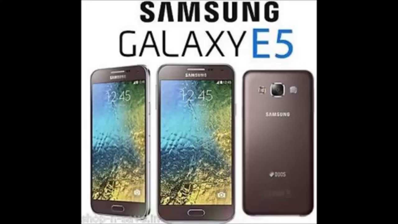 Review Samsung Galaxy E5 E500h Youtube