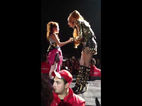 Lady Gaga's speech to a little girl and Marry the Night - Born this Way Born Melbourne 3/7/2012