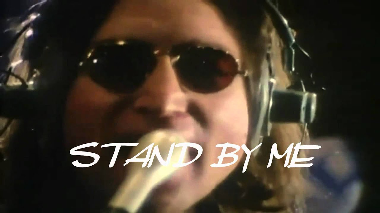 Stand By Me Musicvideo Lyrics 1975 John Lennon Youtube