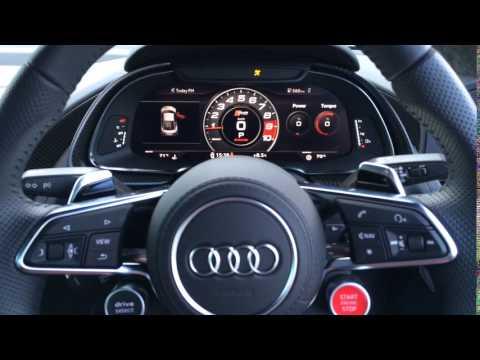 2016 Audi R8 V10 plus startup