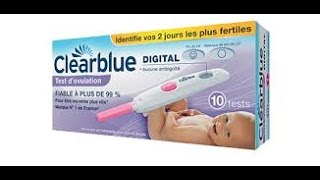test ovulation clearblue digital ( test fiable ???? )