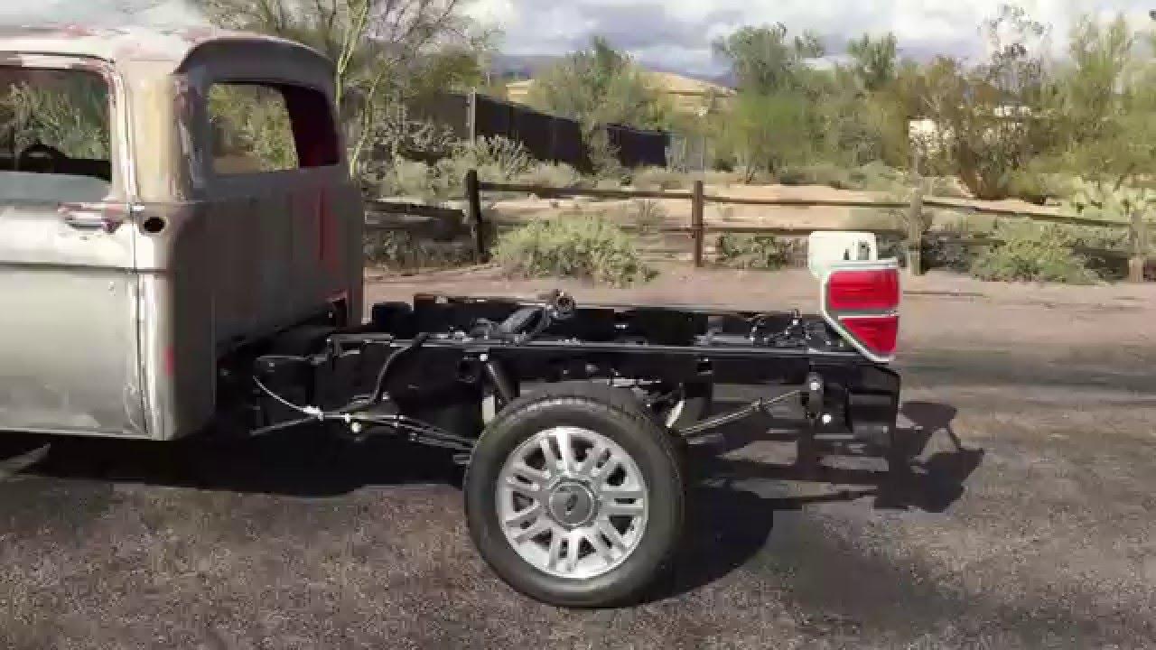 1966 F100 Ecoboost Engine Swap Walk Around Video
