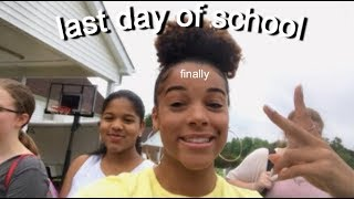 Vlog + Grwm: Last Day Of School | Azlia Williams