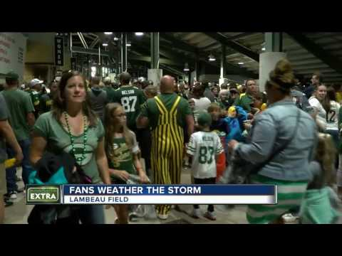 Storms force Packers