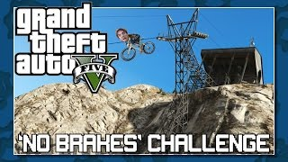 GTA 5 Mt Chiliad Death Valley Bike Challenge - Stunt + Fail Montage - Extreme Gaming Challenge