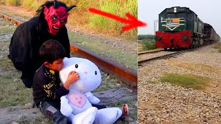 Shaitan vs Kids and Puppet Toy Social Message Moral Story for Kids