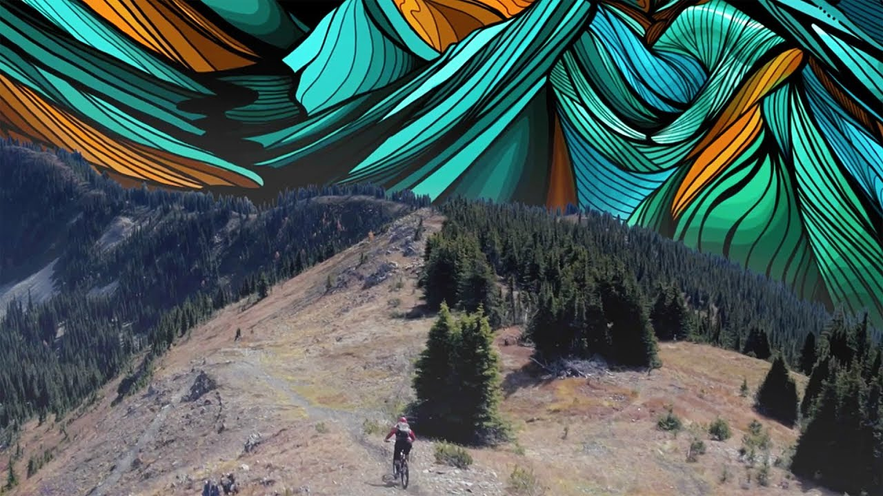 Mountain Bike Meets Painting Micayla Gatto S