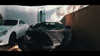 Matte Black Lamborghini Aventador BATMOBILE