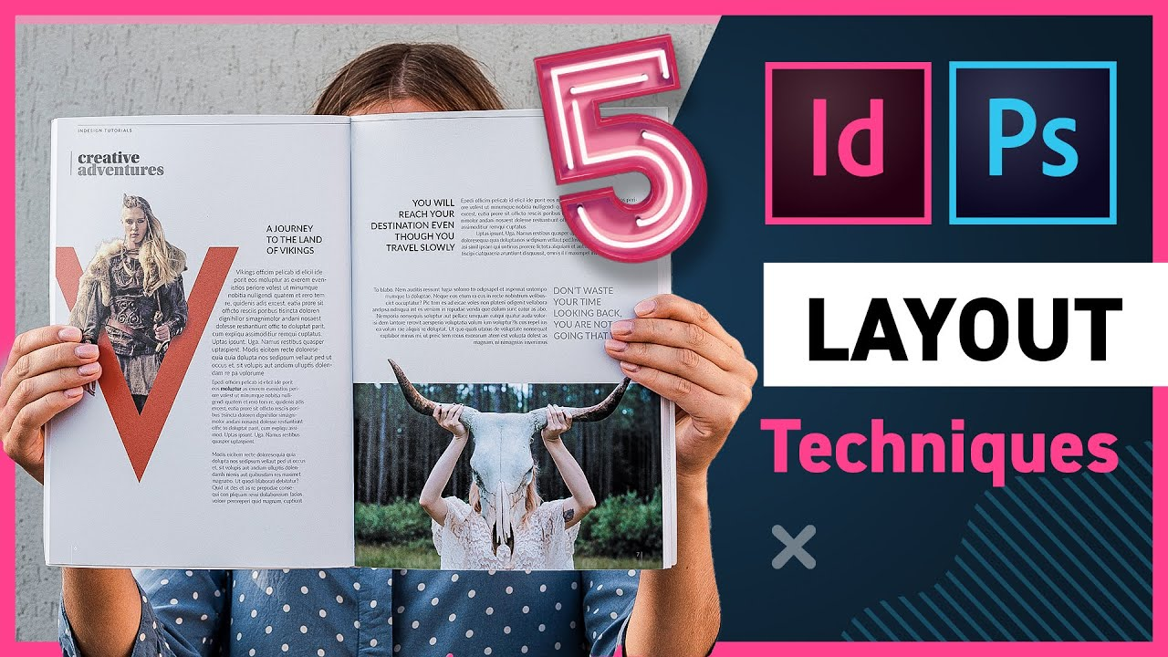 5 Creative Layout Techniques with InDesign and Photoshop