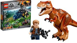 LEGO Jurassic World 2018 наборы новинки