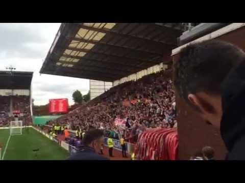 Stoke vs Aston Villa at Britannia Stadium